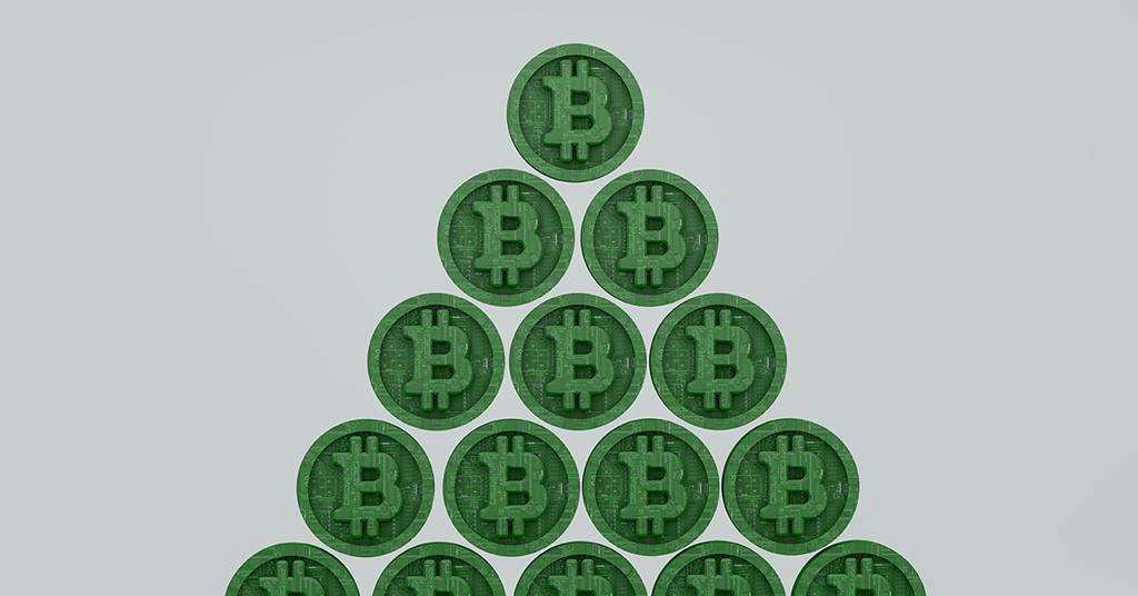 bitcoin pyramiden system
